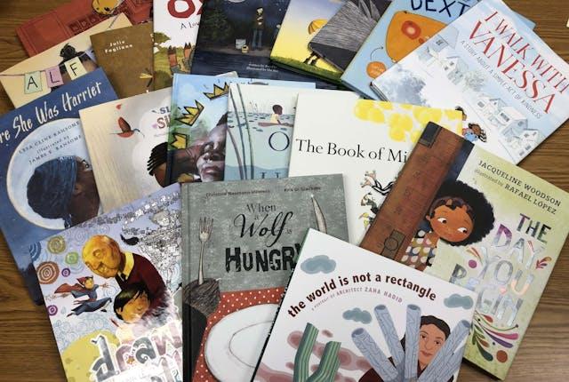 Picturebook (Grade K-4) Nominees