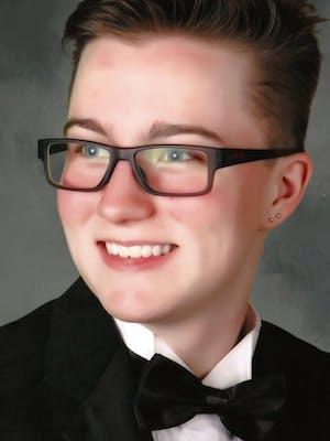 Portrait of Aaron Mathauer