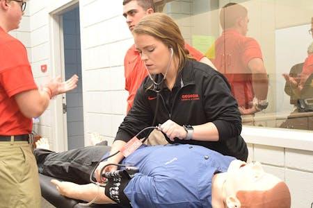 Athletic Training Simulation Lab