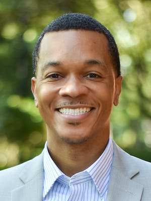 Portrait of Roswell Lawrence, Jr., PhD., MBA, MDiv