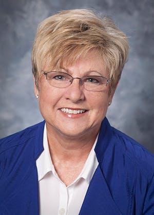 Portrait of Kathy Moss