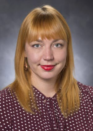 Portrait of Desiree Sharpe