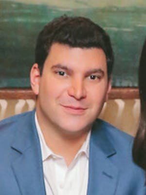 Portrait of David Koonin